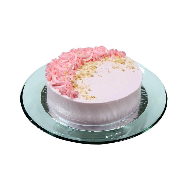 Jual Country Style Donuts - Paket C E-Voucher [Leaf Cake Pandan Pink 20 cm] Terbaru - Harga
