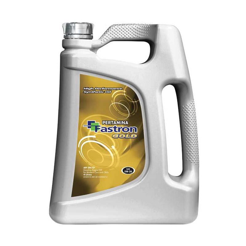 Jual Pertamina Fastron Gold SAE 5W 30 API SN CF Full