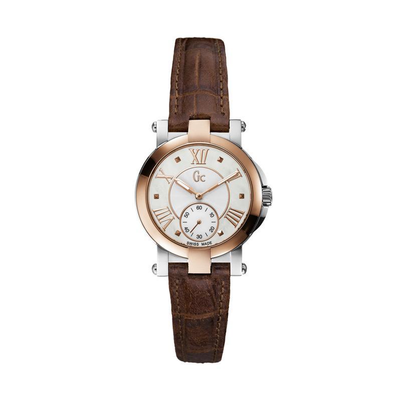 ... Chronograph Jam Tangan Pria Source · Jam Wanita Guess Rosegold Leather Brown jual guess collection gc demoiselle x50004l1s leather jam