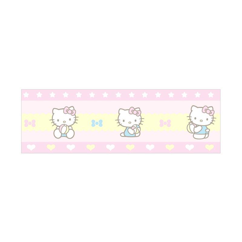 jual new sanrio world kt 215 motif hello kitty border 1
