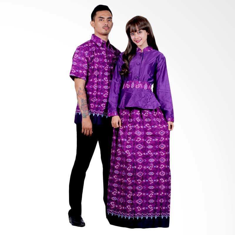 Jual Batik Putri Ayu Solo Gamis Katun Velvet Premium