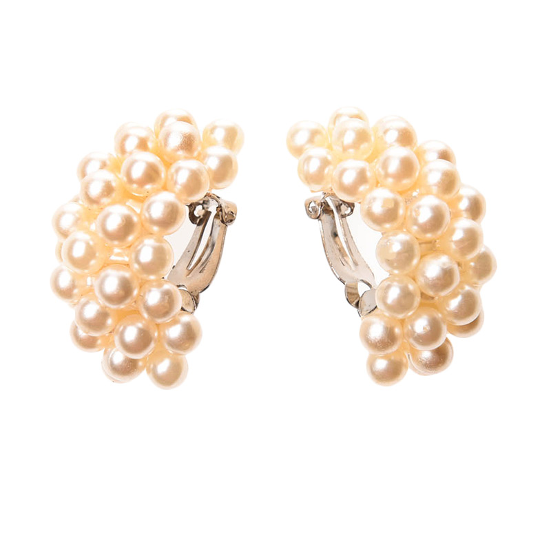 1901 Jewelry Carreta Clip GW.5085.HR53 Anting - White
