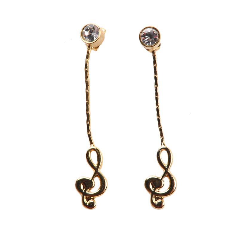 1901 Jewelry GW.1171.HR31 Anting Nots Studs [Lapis Emas 24k]