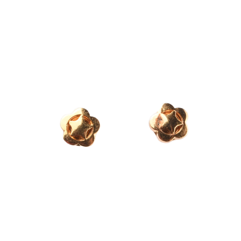 1901 Jewelry GW.3498.HR50 Star Studs 3498 Anting [Lapis Emas 24k]