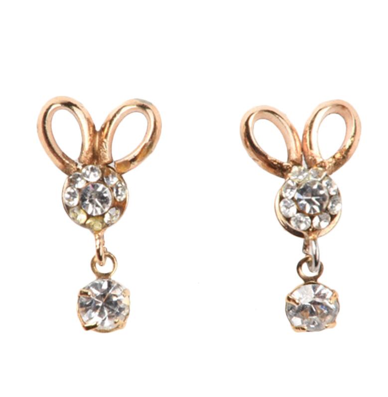 1901 Jewelry GW.3501.HR50 Anting Bunny Studs 3501 [Lapis Emas 24k]