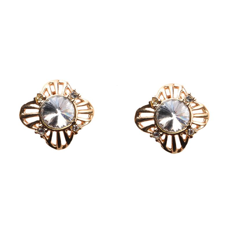 1901 Jewelry GW.5130.HR53 Anting Michelia Clip [Lapis Emas 24k]