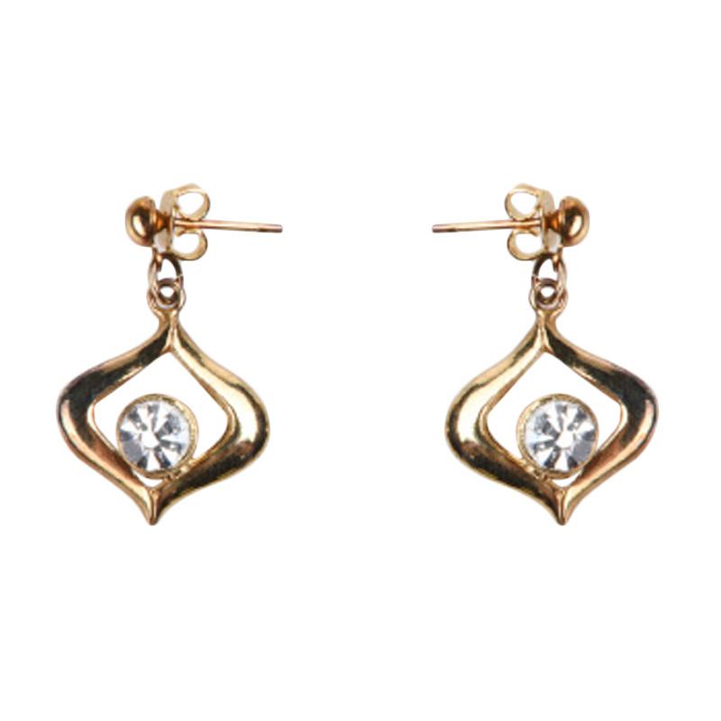 1901 Jewelry GW.772.HR31 Anting Buttercup Studs [Lapis Emas 24k]