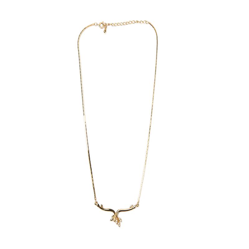 1901 Jewelry KL.12.HR11 Kalung Gold 12 [Lapis Emas 24k]