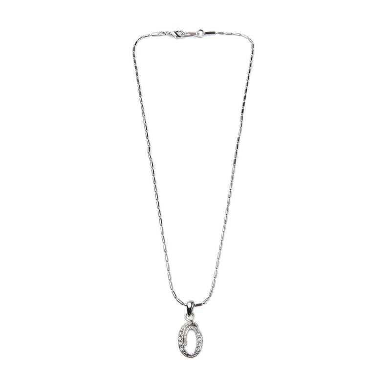 1901 Jewelry KL.911.HR67O 911 O Kalung - Silver Itali