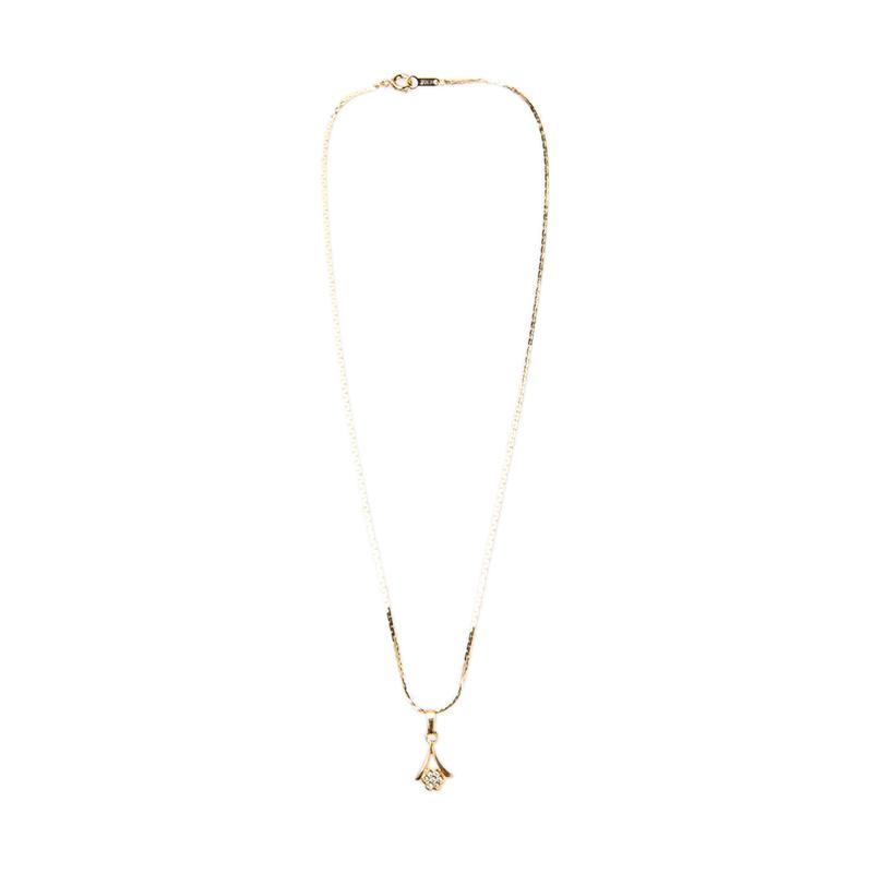 1901 Jewelry KL.958-25.HR66-10 Kalung 958-25 [Lapis Emas 24k]