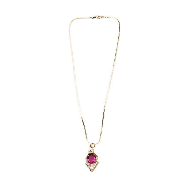 1901 Jewelry KL.958-48.HR66-10 Kalung 958-48 [Lapis Emas 24k]