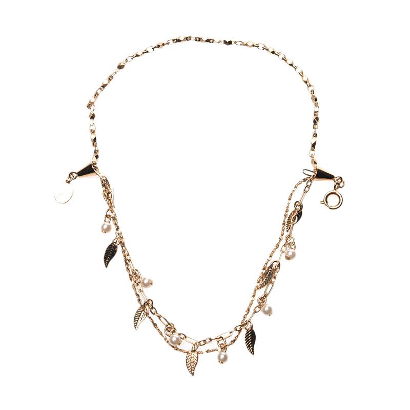 1901 Jewelry Leaf Bracelet GL.381.HR41 Gelang - Yellow