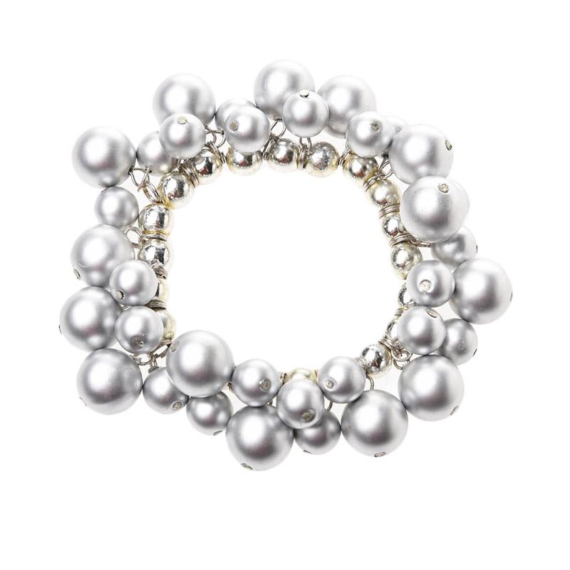 1901 Jewelry Silver Bulb Bracelet GL.49.HR8 Gelang - Silver