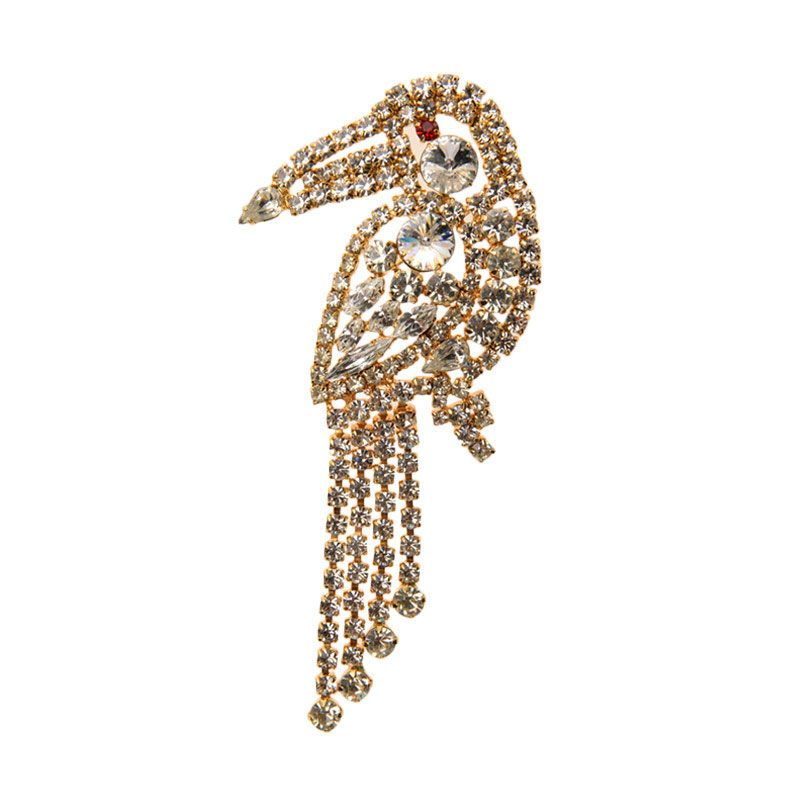 1901 Jewelry Bird 1759 BR.1759.HR48 Brooch Wanita