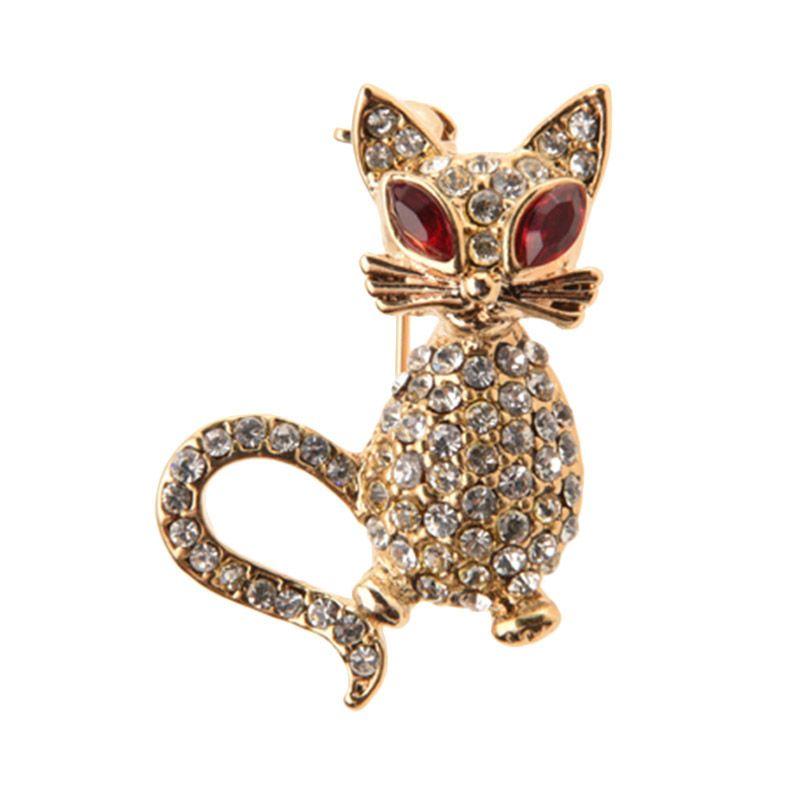 1901 Jewelry Mouse 2250 BR.2250.HR71 Brooch Wanita