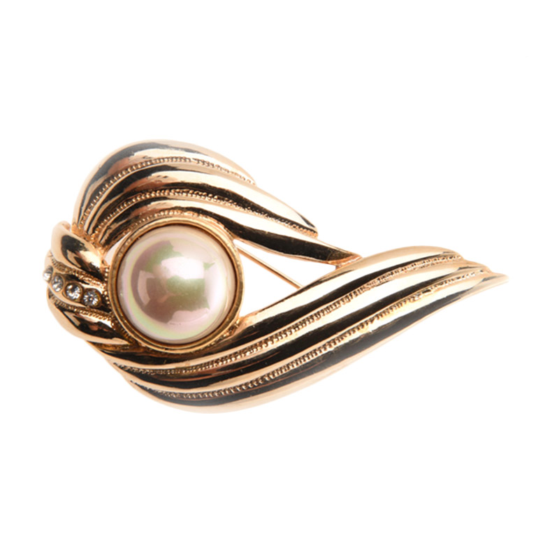1901 Jewelry Onion BR.2026.HR42 Pearl Brooch