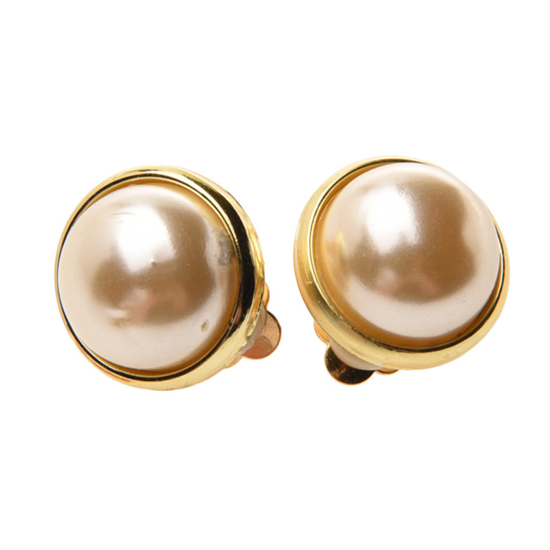 1901 Jewelry Pearl 2227 Clip Anting Wanita