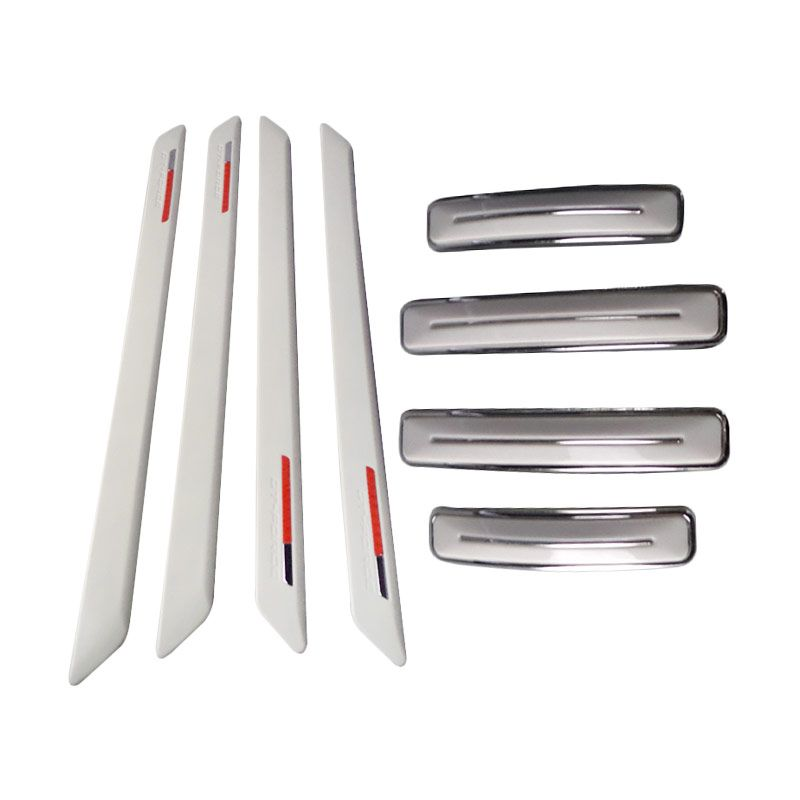 1Price Paket Combo 118 [Bumper Guard [4 Pcs] A26674 + Door Guards A26012 [4 Pcs]]