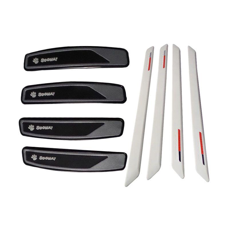 1Price Paket Combo 122 [Bumper Guard  A26674 [4Pcs] + Door Guards A47043 [4Pcs]]