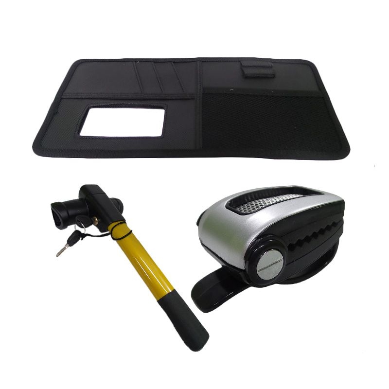 1Price Paket Combo 28 [Streeing wheel lock F50006 + Sunglasses holder A53004 + Sunshield organizer A83027]