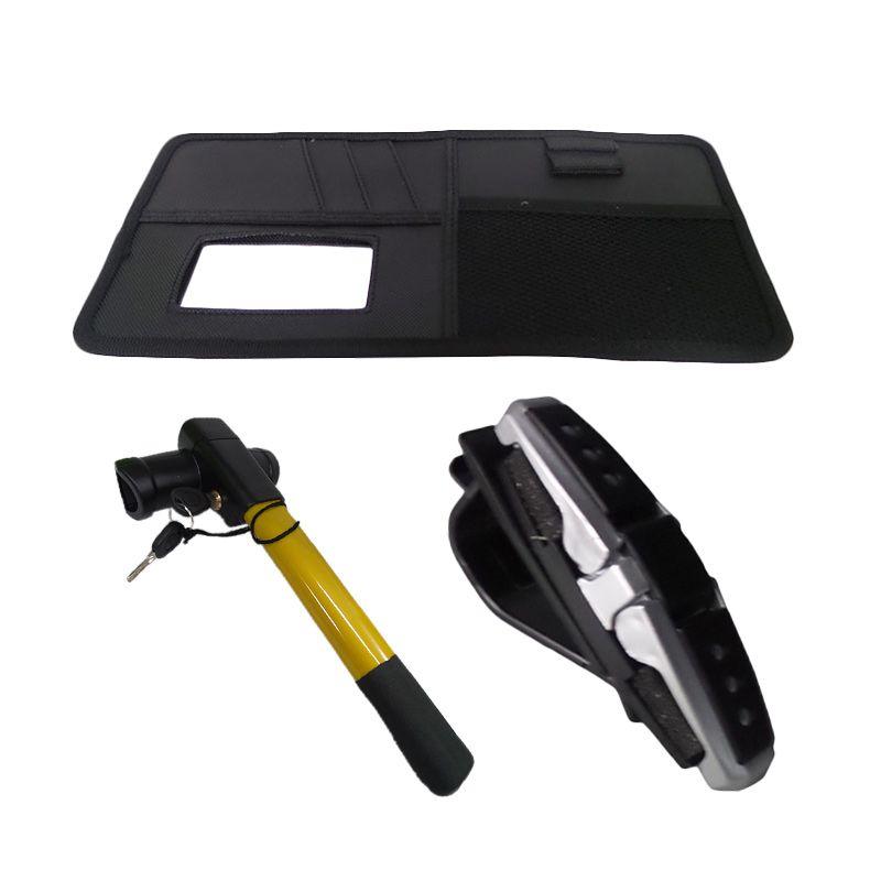 1Price Paket Combo 29 [Streeing wheel lock F50006 + Sunglasses holder A27333 + Sunshield organizer A83027]