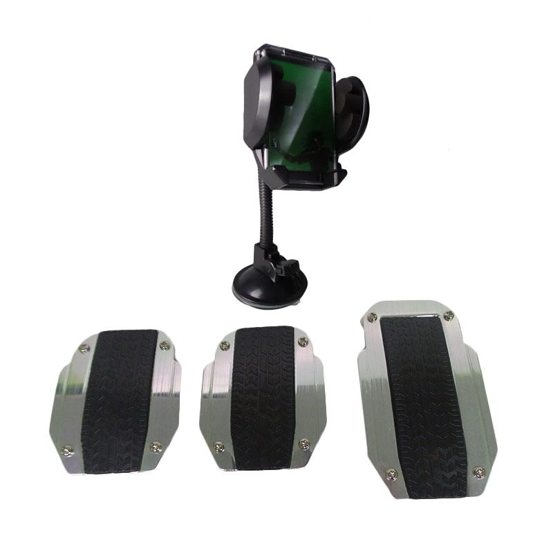 1Price Paket Combo 63 [Manual Pedal Pad B71224A + Phone Holder C30043]