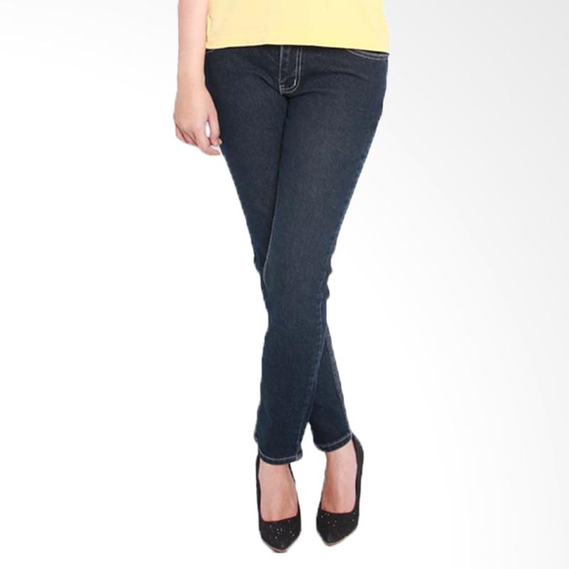 Kelebihan Kekurangan 2Nd RED 233276 Slim Fit Raw Celana Wanita - Blue Denim Dan Harganya