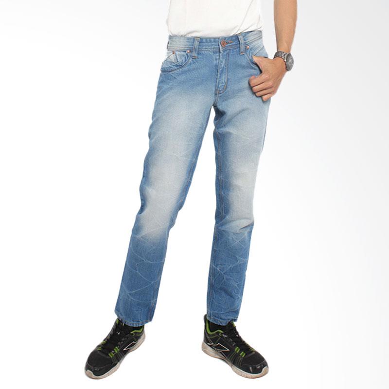 2nd RED 121281 FS Jeans Retro Celana Panjang Pria - Light Blue
