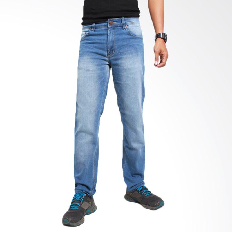 Kelebihan Kekurangan 2NdRED 133226 Straight Wisker Celana Pria - Light Blue Dan Harganya