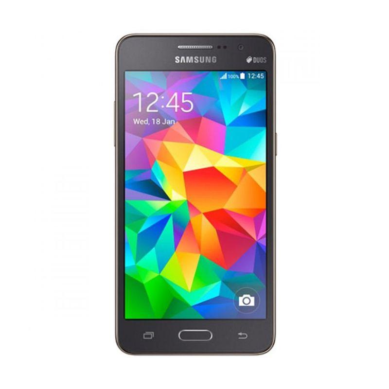 Samsung Galaxy Grand Prime G530 Abu Abu Smartphone [1 GB/8 GB]