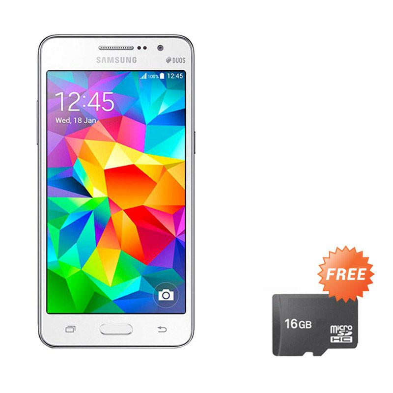 Samsung Galaxy Prime Plus SM-G531H DS Putih Smartphone + Memory Card