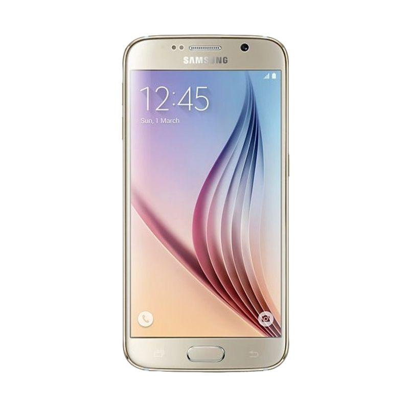Samsung Galaxy S6 Gold Smartphone [3 GB/32 GB]