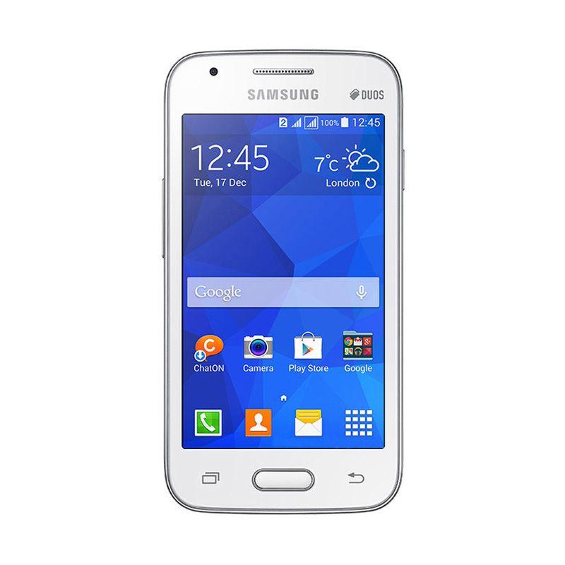 Samsung Galaxy V Plus Putih Smartphone [Garansi Resmi]