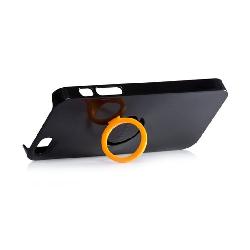 CDN Circlet for iPhone 5 - Black + Yellow Ring