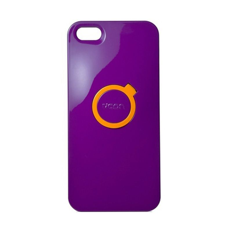 CDN Circlet for iPhone 5 - Charming Purple + Yellow Ring