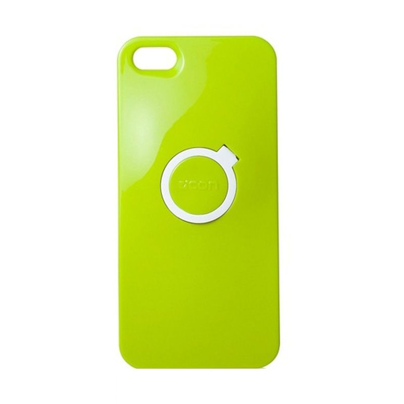 CDN Circlet for iPhone 5 - Lime Green + White Ring