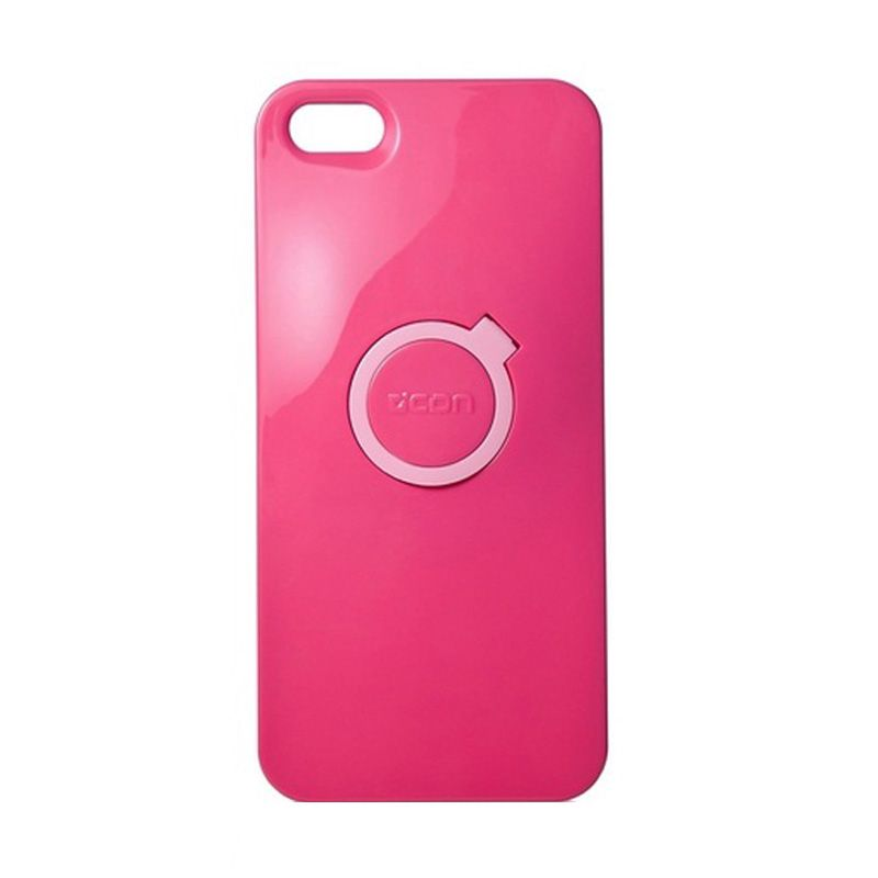CDN Circlet for iPhone 5 - Passion Pink + White Ring