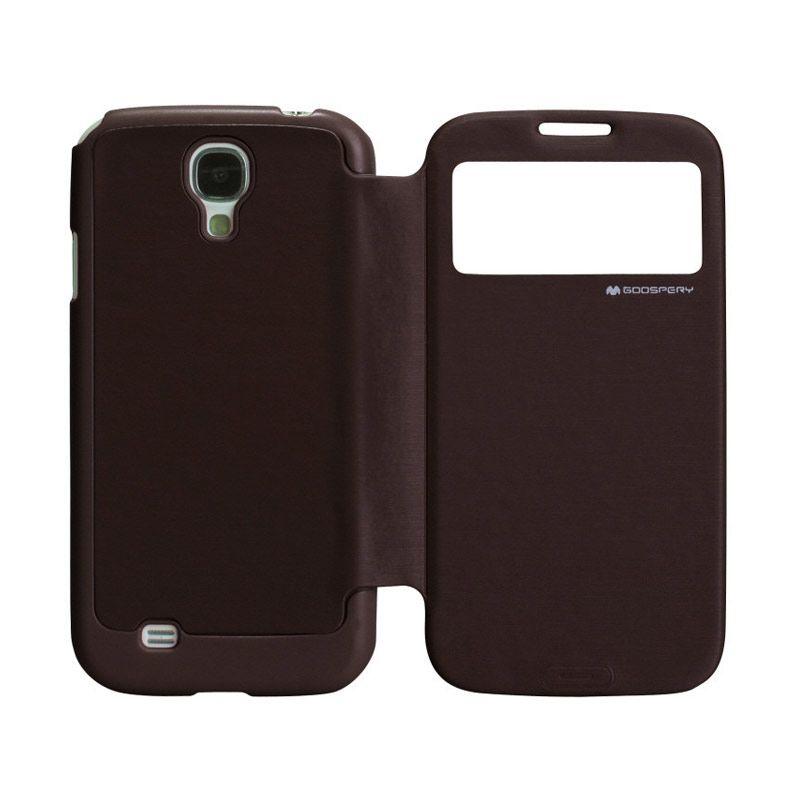 Goospery Easy View Samsung Galaxy Mega 6.3 Brown