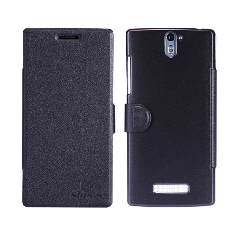 Nillkin Fresh Leathercase OPPO Find 5 Black