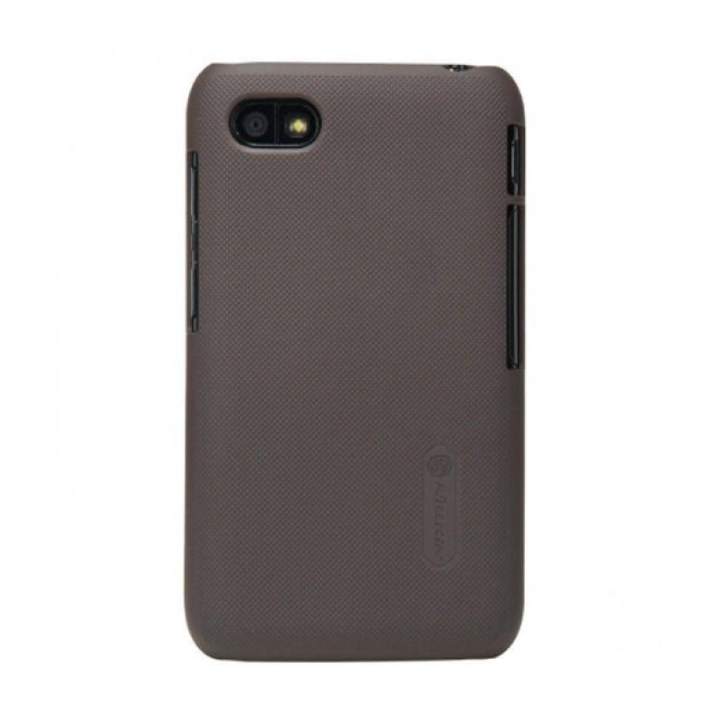 Nillkin Super Shield for Blackberry Q5 - Brown