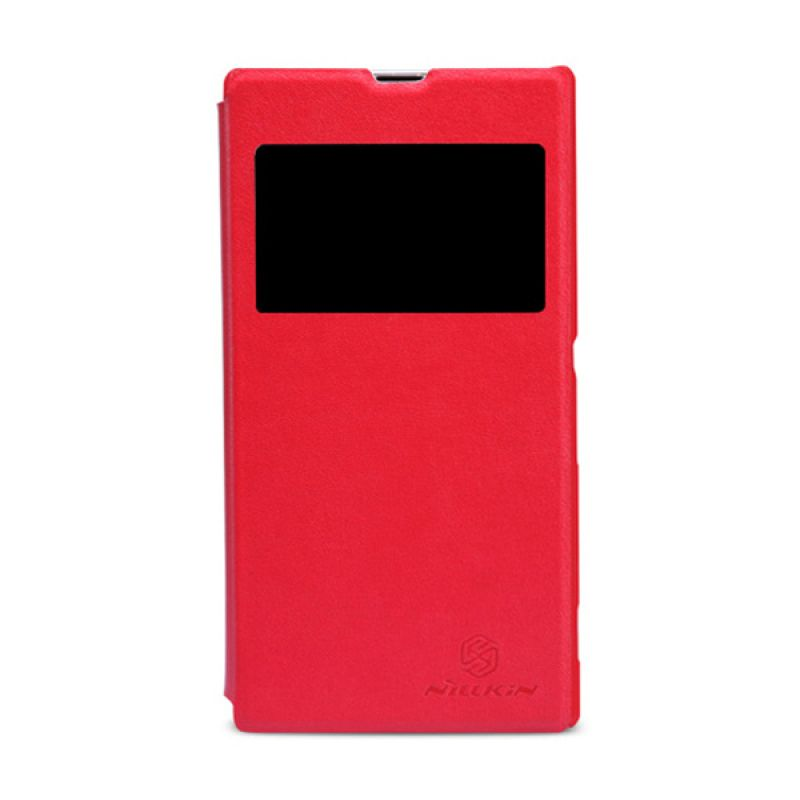 Nillkin V - Series Leather case for Sony Xperia Z1 - Red
