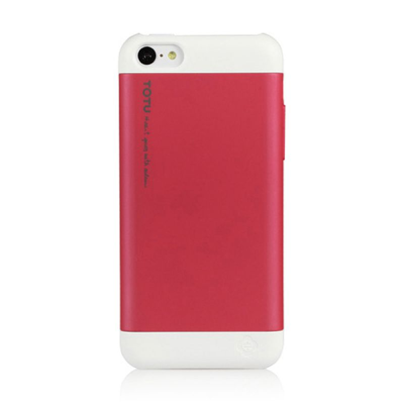 Totu Primary Colors for iPhone 5C - White / Pink