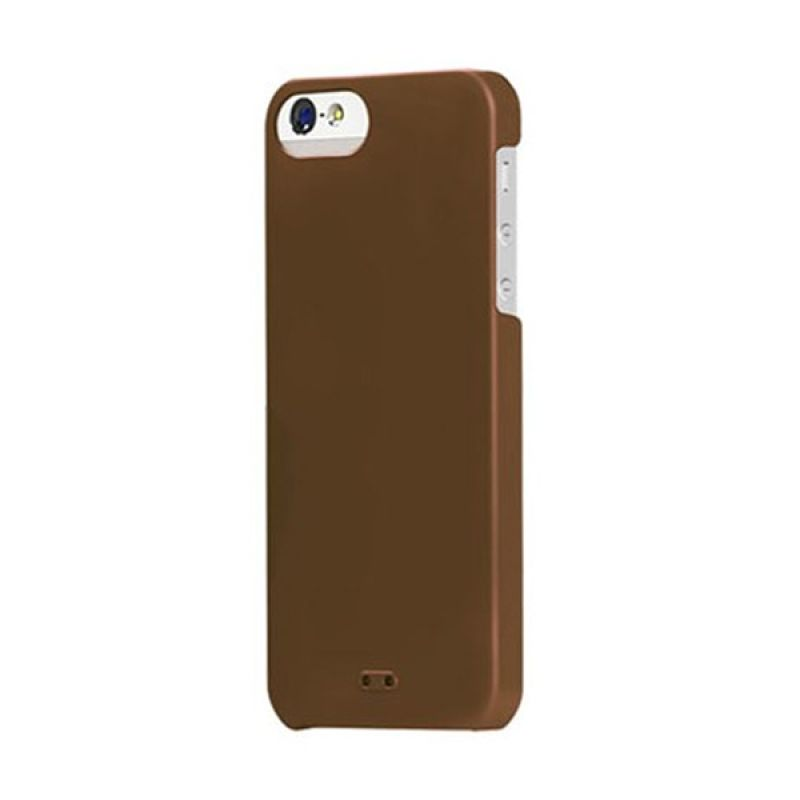 Tunewear Eggshell for iPhone 5 - Brown