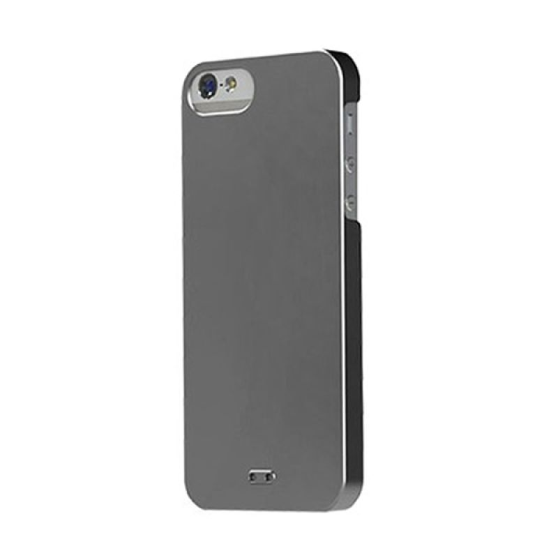 Tunewear Eggshell Pearl for iPhone 5 - Gun Metal