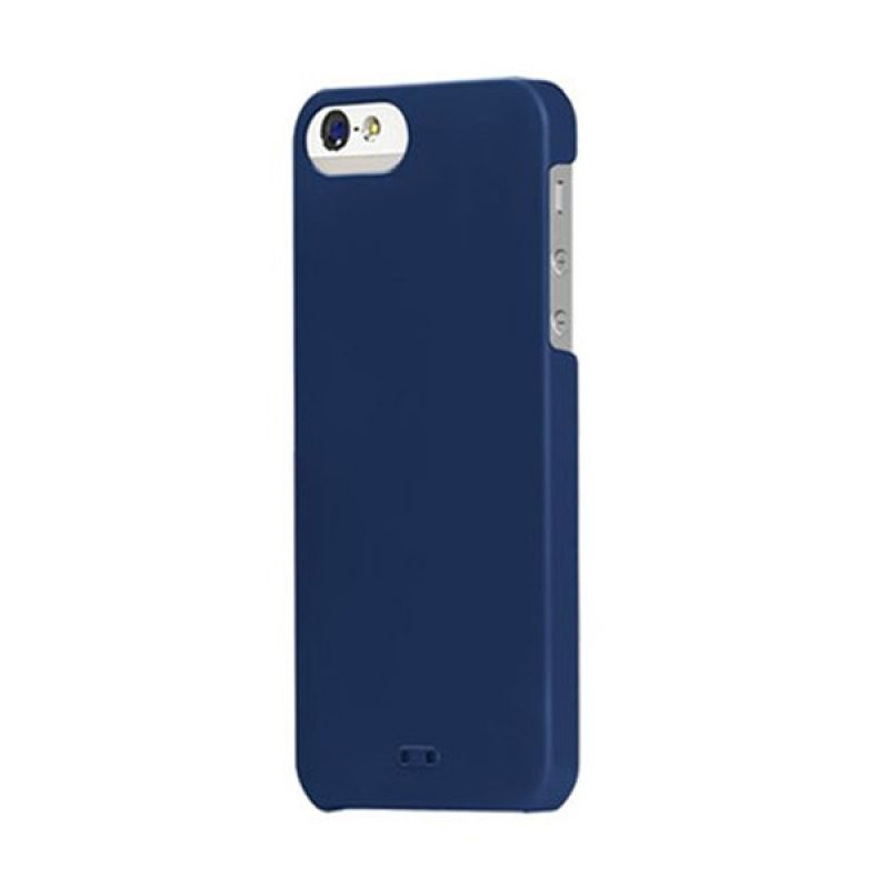 Tunewear Eggshell for iPhone 5 - Navy