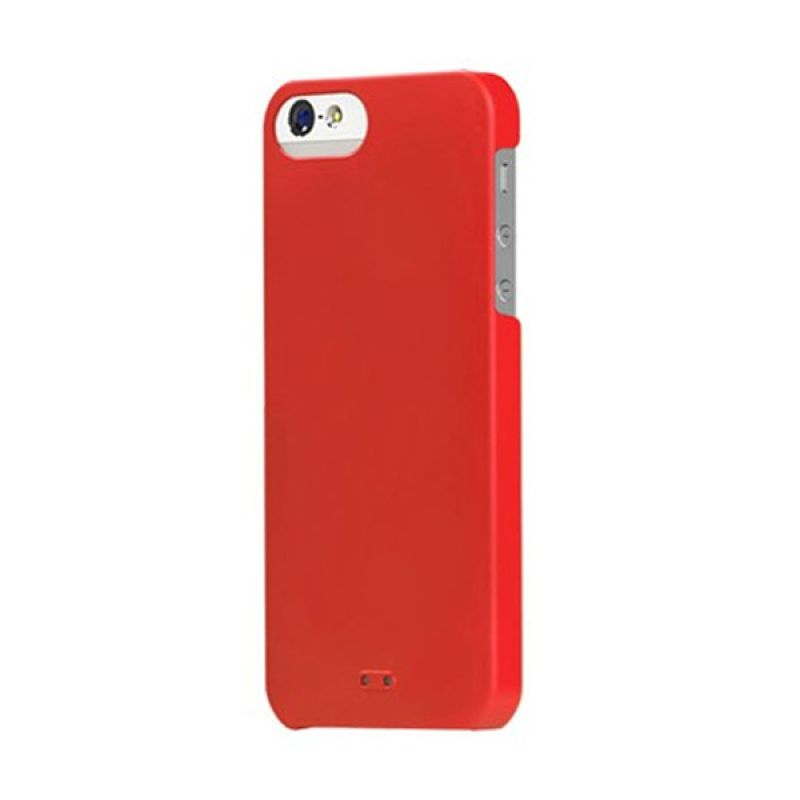 Tunewear Eggshell for iPhone 5 - Red