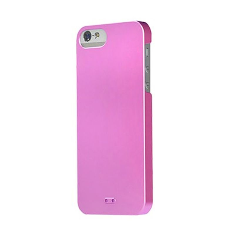 Tunewear Eggshell Pearl for iPhone 5 - Shinny Pink