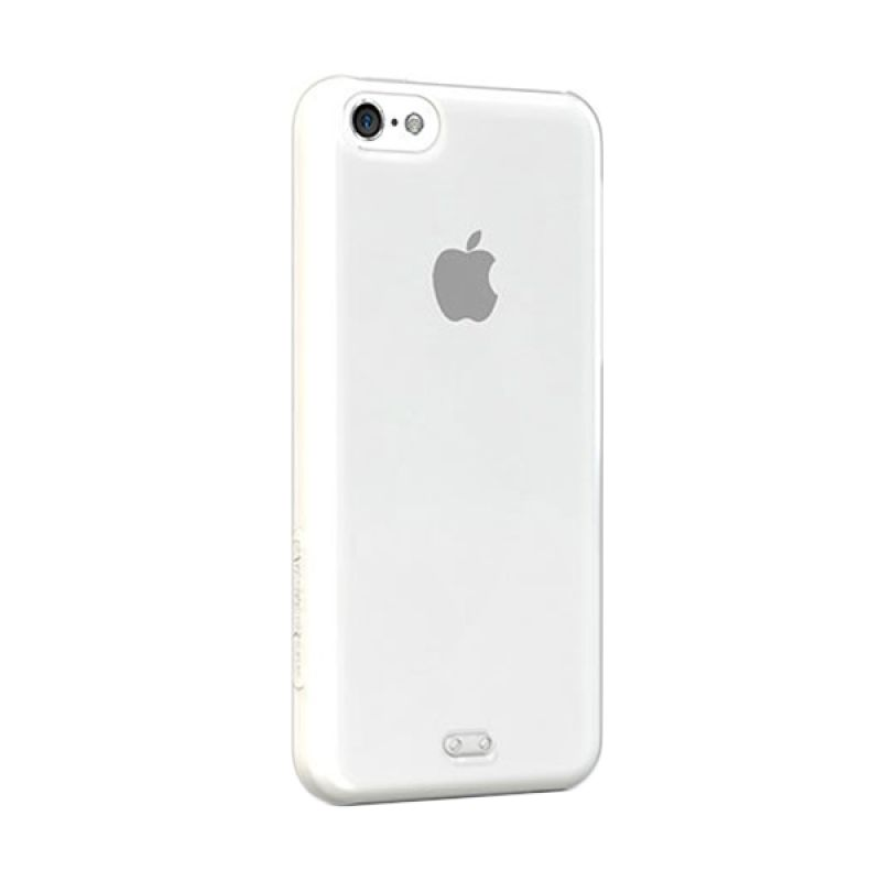 Tunewear Eggshell for iPhone 5C - Clear White