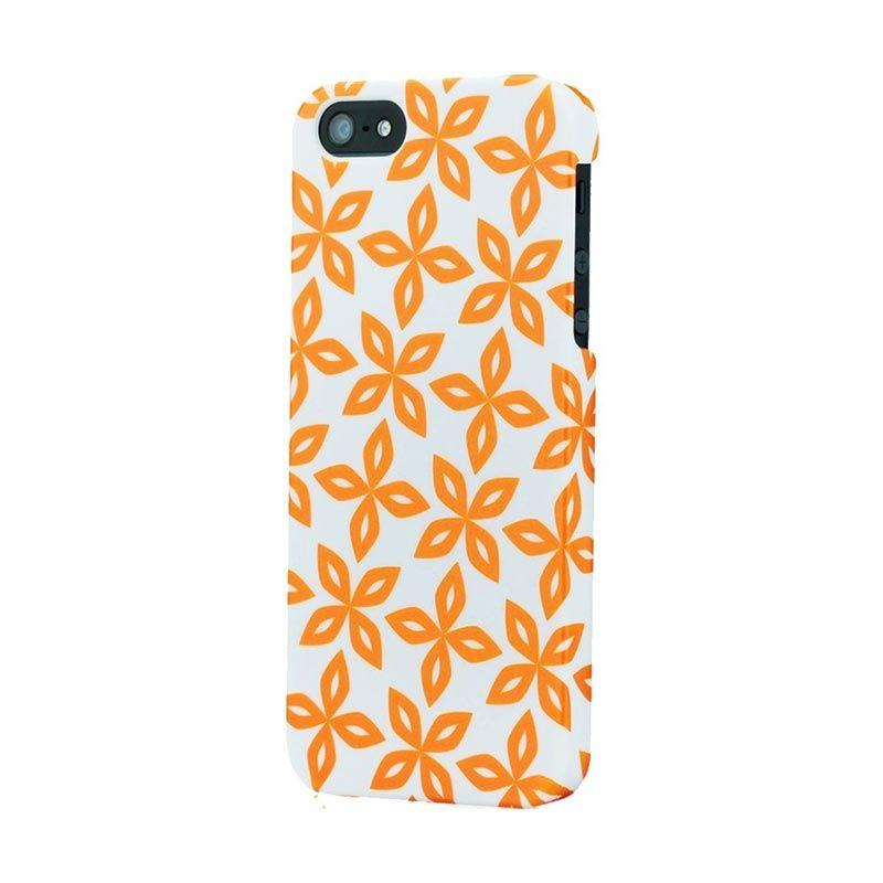 Tunewear Finland Series for iPhone 5 - Aurinko (Orange)
