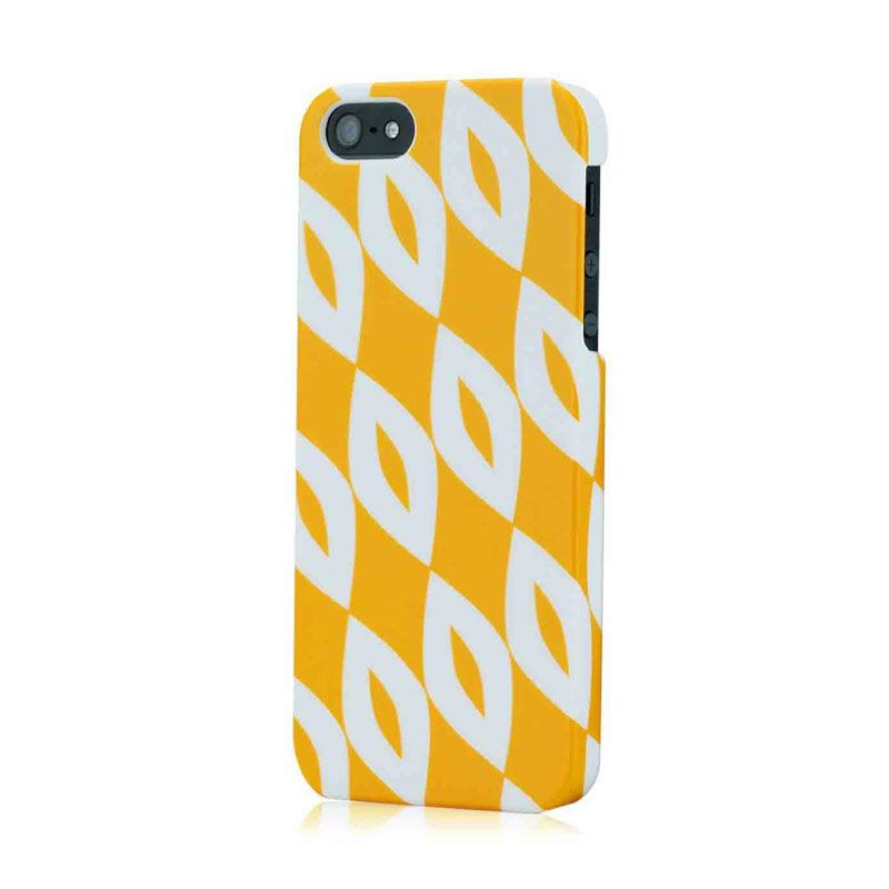 Tunewear Finland Series for iPhone 5 - Kukka (Yellow)